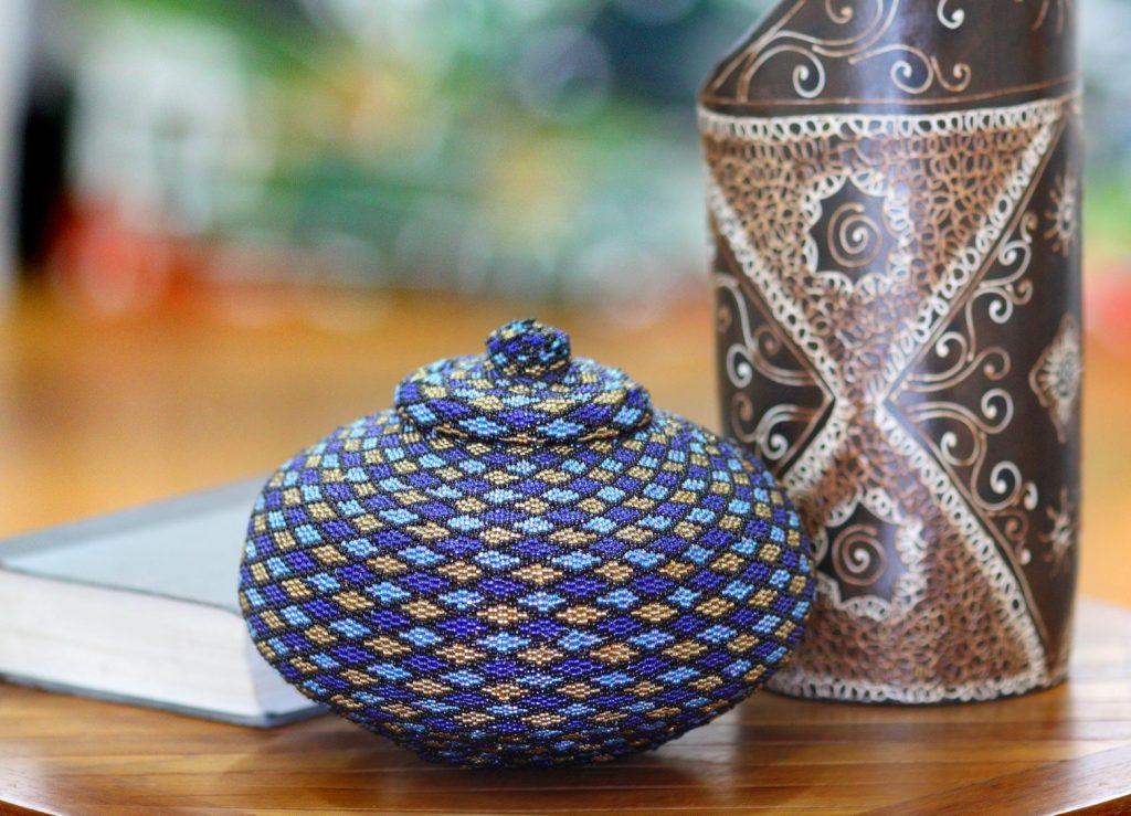 handmade decorative basket
