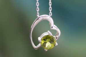 August Birthstone – Styling Peridot Necklaces, Earrings