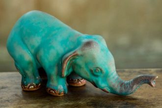 ceramic-statuette-turquoise-elephant-sawasdee2