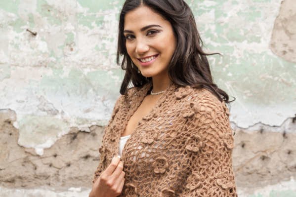 crochet aplaca shawl