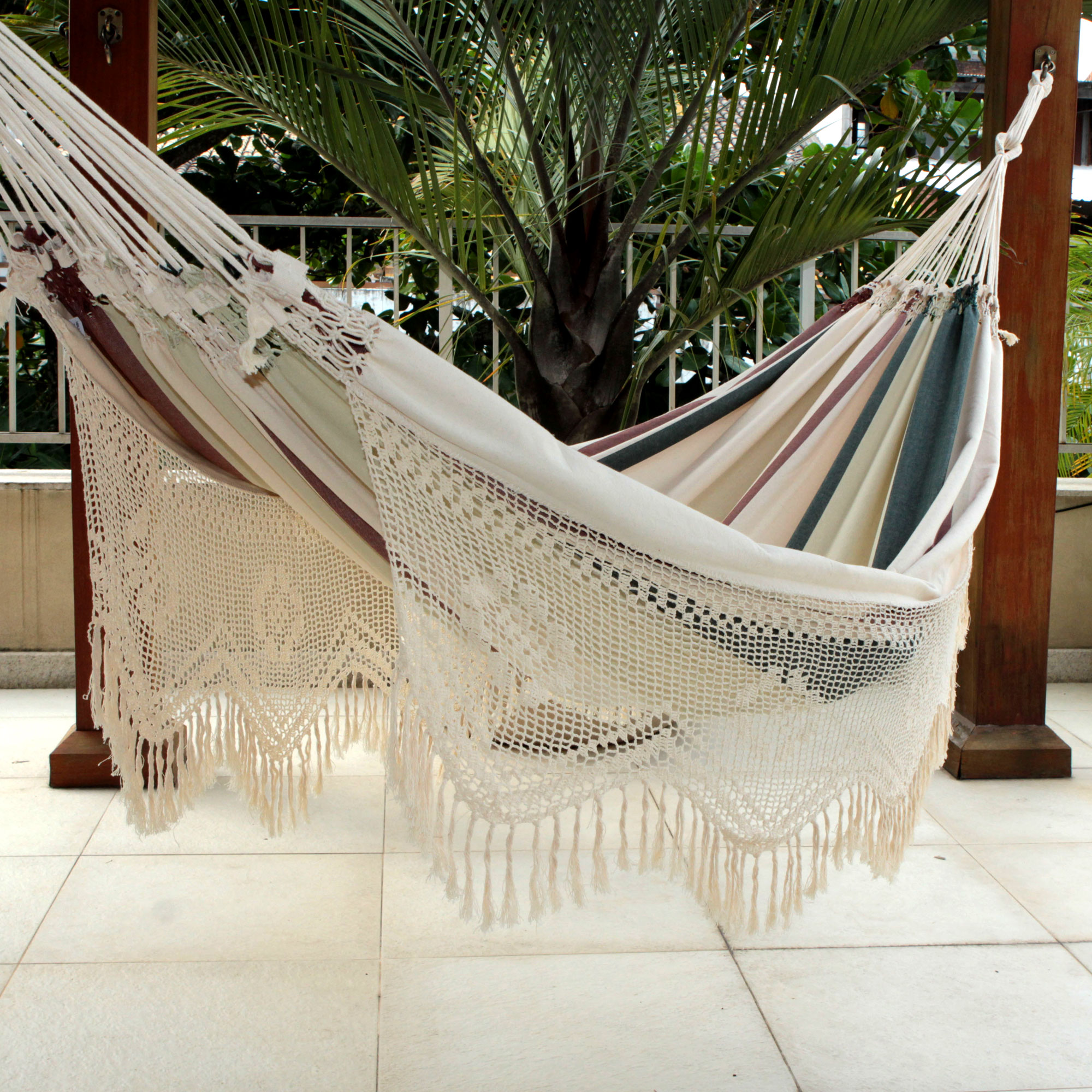 Cotton hammock, Joyous Earth, hammock, home hand woven decor unique mother's day gifts