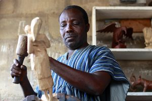 Wood Carving In West Africa – With George Obeng