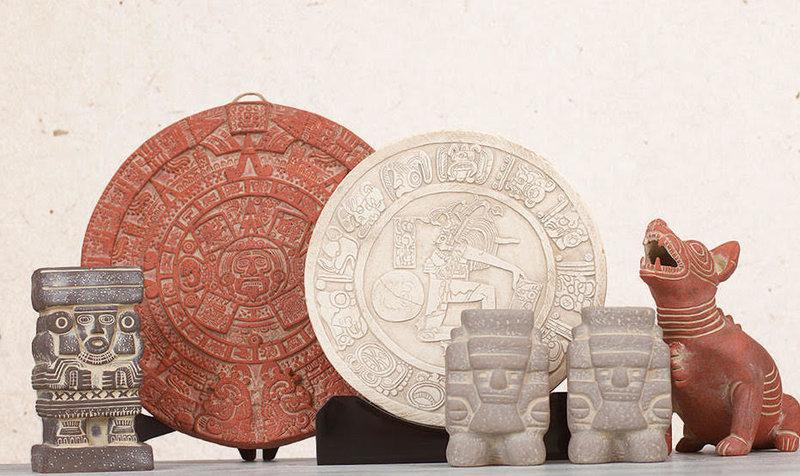 Aztec and Maya Sculptures