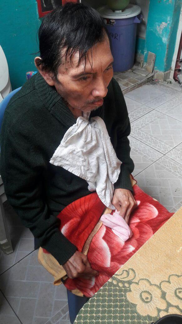 Alfredo Inga and Perus flood victims