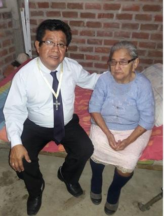 Alfredo Inga and Peru's flood victims