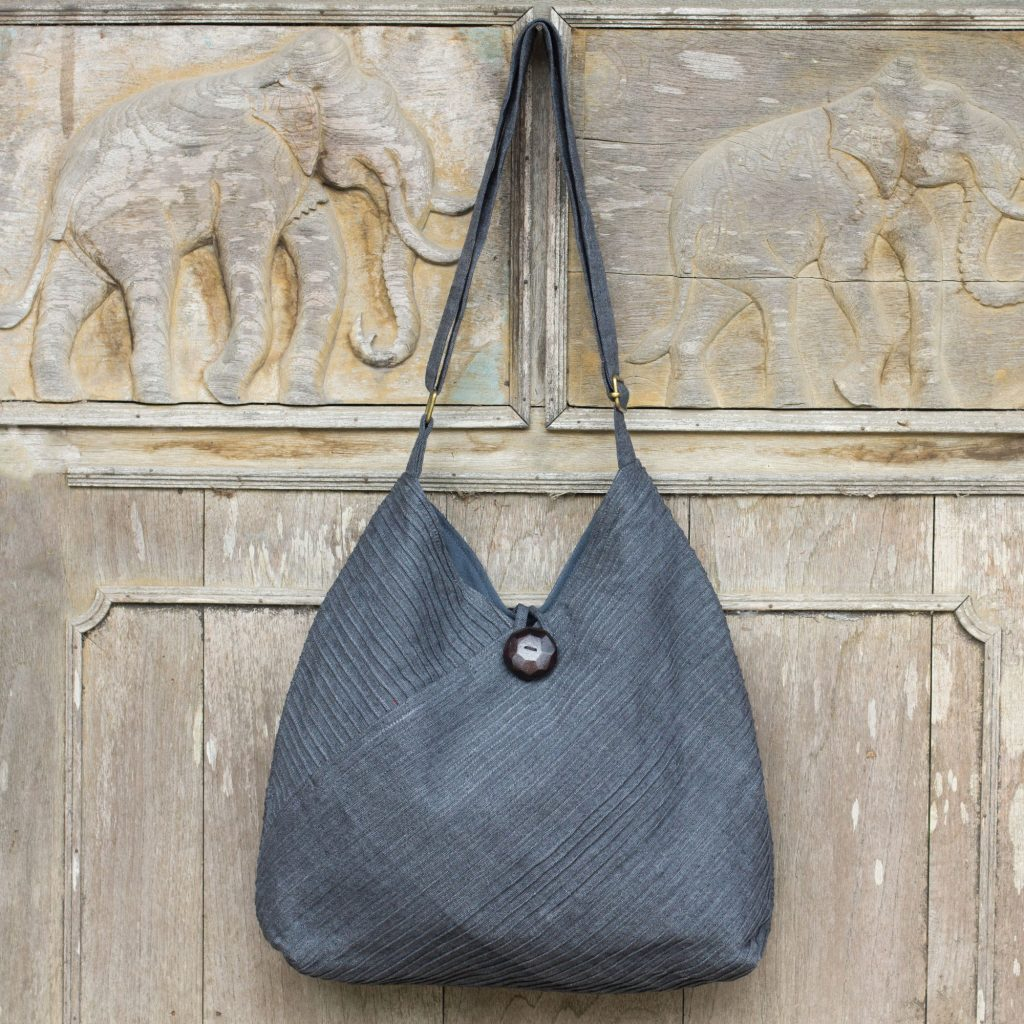Surreal Grey Grey Hobo Shoulder Bag with Coin Purse and Multi Pockets Gray Handbags: Selecting The Perfect Style For Every Season