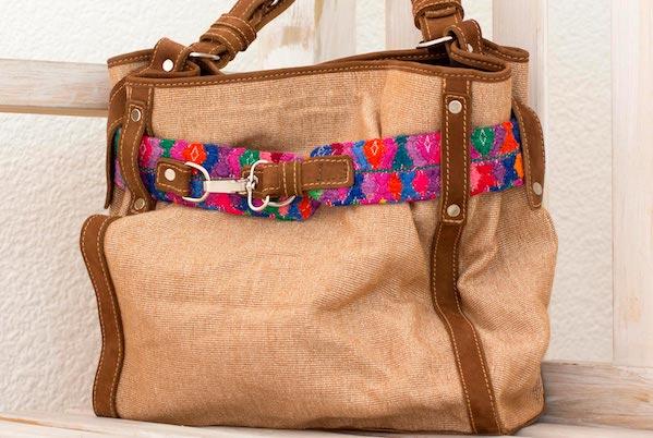 New Round Handbag Women Shoulder Purse or Hand Held Brown