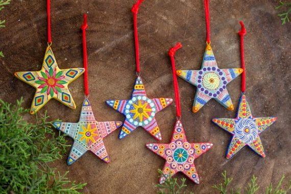 Artisan Crafted Ceramic Christmas Ornaments