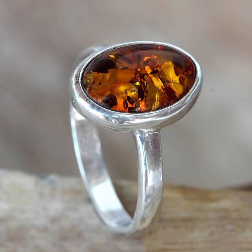 ring, harmony sunset, Harmony Sunset Natural Golden Amber on Sterling Silver Ring, harmony, amber, natural amber sterling silver ring, amber ring, sterling silver ring