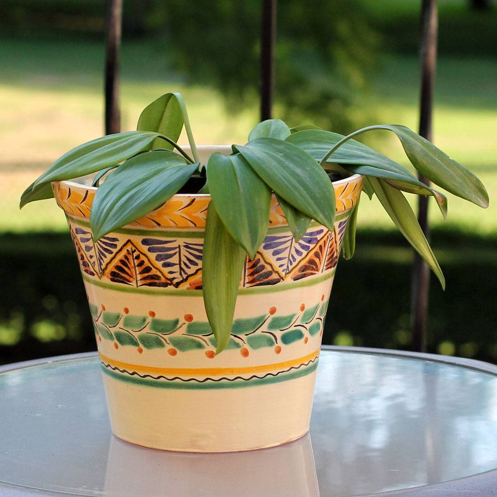 Sayula Artisan Crafted Ceramic Garden Decor Outdoor Living