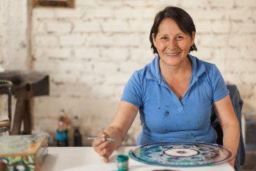 Magic through the glass: The Art of Asunta Pelaez