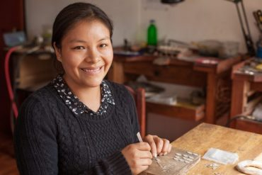 Art and tradition in silver: An Interview with artisan, Nancy Quispe