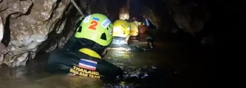 Thai cave rescue divers probe deep underground