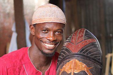 Mask Carver Aziz Dreams of a Craft Training Center