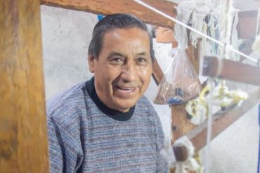 The mathemetician weaver: Eladio Chiroy makes art from math