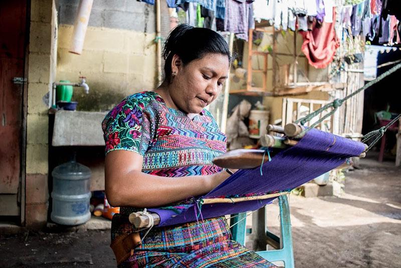 Mayra Hernandez, guatemalan artisan