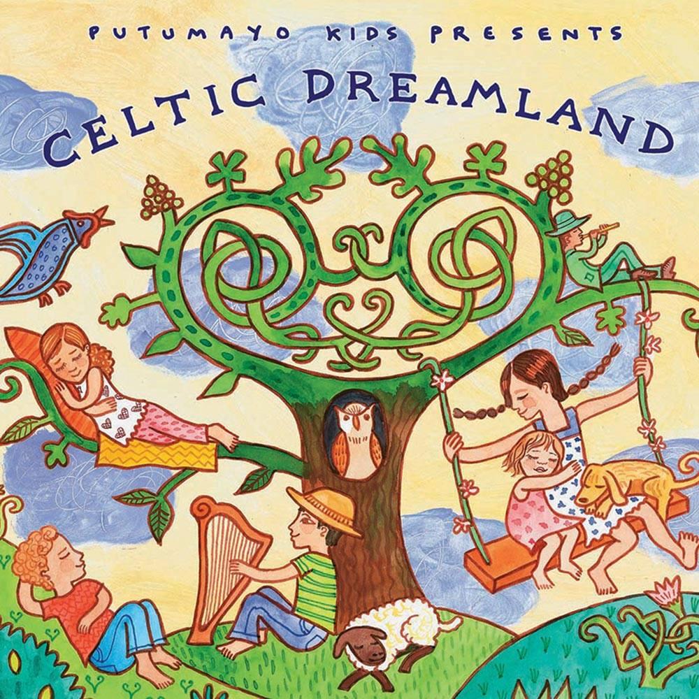 """Putumayo Audio CD of Soothing Celtic Music, """"Celtic Dreamland"""""""
