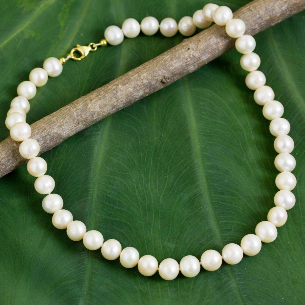 pearl jewelry graduation gift