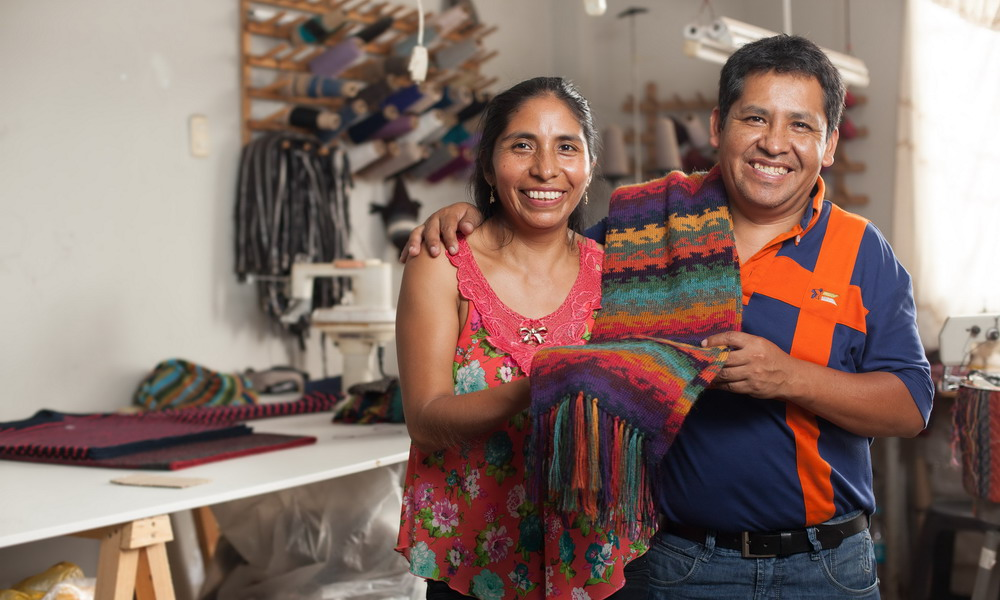 Fernando Cano - Alpaca apparel - The Andes