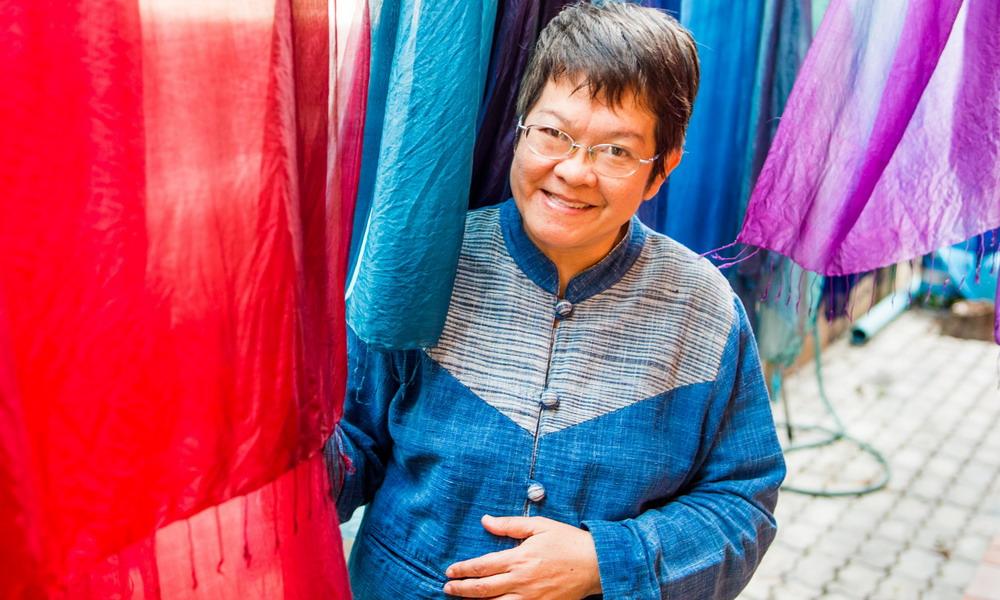 Vinita - Batik accessories - Thailand