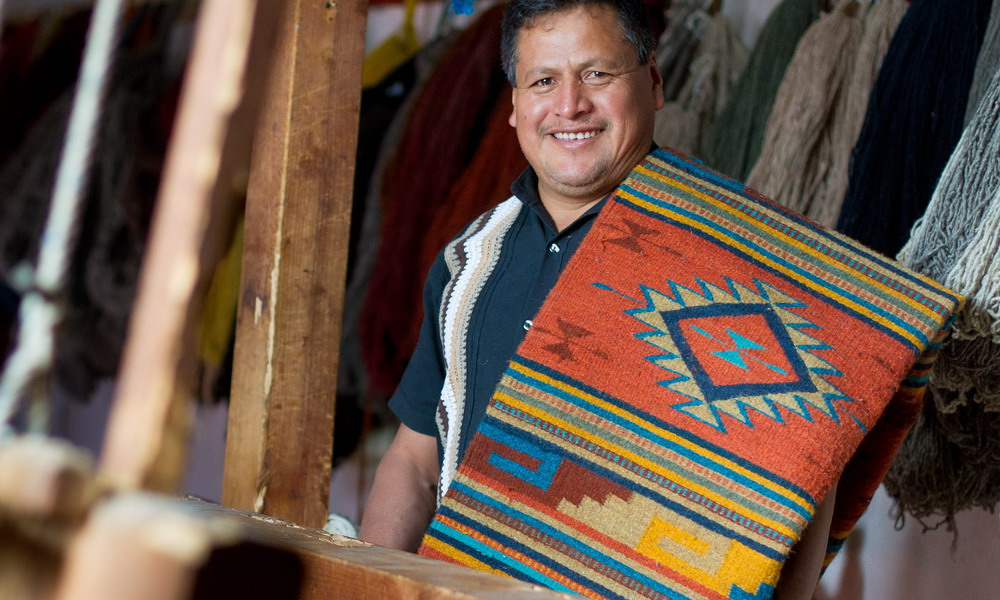Ruiz Bazan Family - Zapotec wool rugs - Mexico
