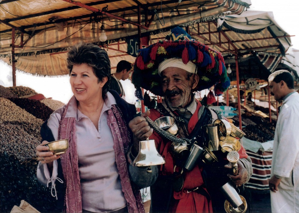 Armenia in the markets of Morocco on a research and sourcing trip