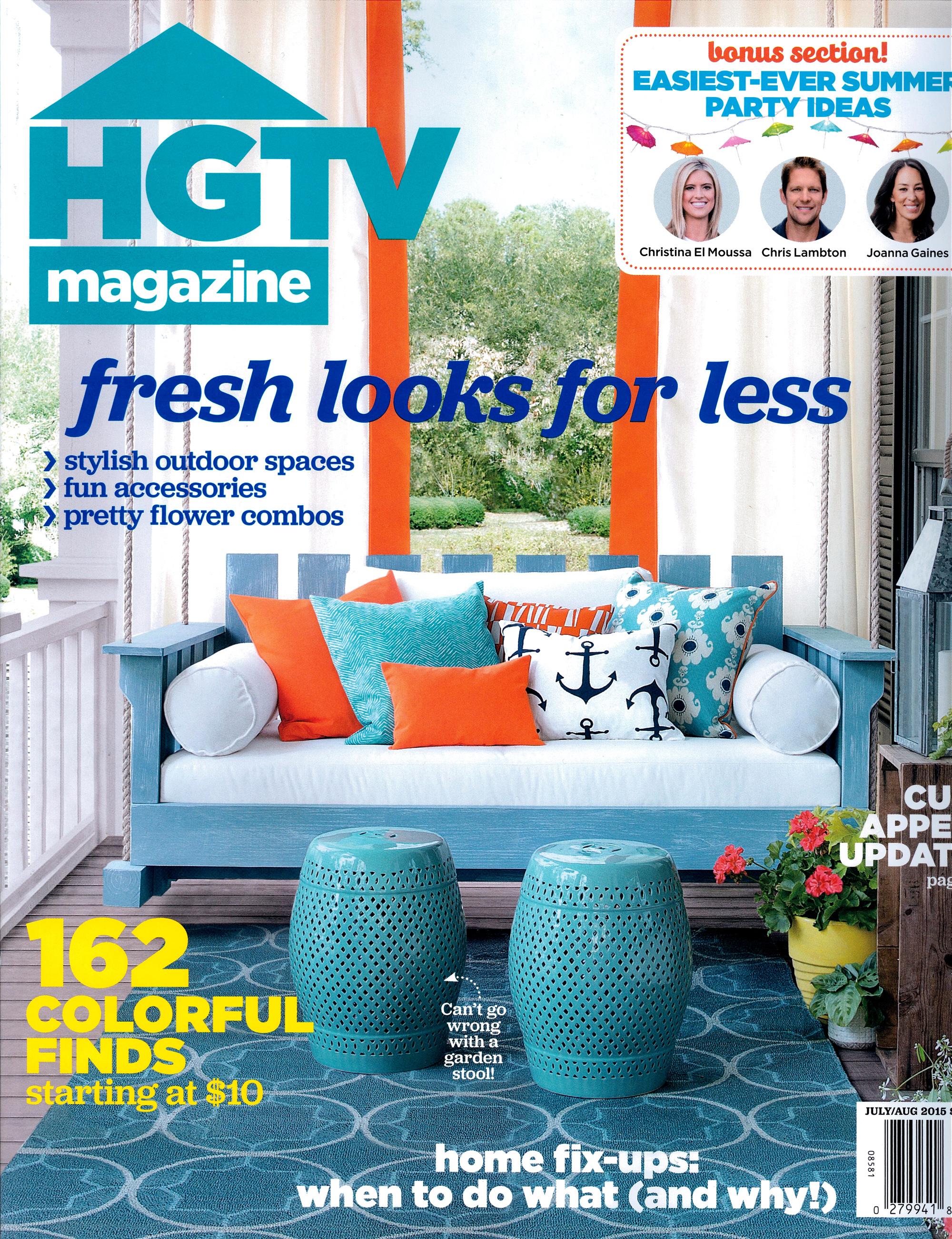 HGTV- PR cover